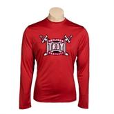 Performance Cardinal Longsleeve Shirt-Baseball