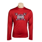 Syntrel Performance Cardinal Longsleeve Shirt-Basketball