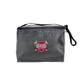 Six Pack Grey Cooler-Troy Trojans Shield