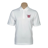 Nike Sphere Dry White Diamond Polo-Troy Trojans Shield