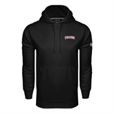 Under Armour Black Performance Sweats Team Hoodie-Arched Trojans