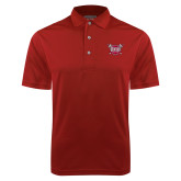 Cardinal Dry Mesh Polo-Troy Trojans Shield