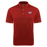 Cardinal Dry Mesh Polo-Troy Trojans Wide Shield