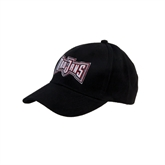 Black Heavyweight Twill Pro Style Hat-Troy Puff