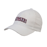 White OttoFlex Unstructured Low Profile Hat-Arched Trojans