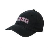 Black OttoFlex Unstructured Low Profile Hat-Arched Trojans