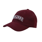 Maroon Flexfit Mid Profile Hat-Arched Trojans