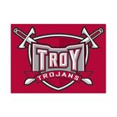 Small Magnet-Troy Trojans Shield, 6 in W