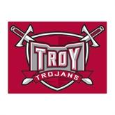 Medium Magnet-Troy Trojans Shield, 8 in W