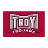 Medium Magnet-Troy Trojans Wide Shield, 8 in W