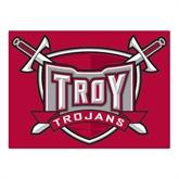 Large Magnet-Troy Trojans Shield, 12 in W
