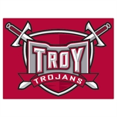 Extra Large Magnet-Troy Trojans Shield, 18 in W