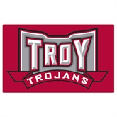 Extra Large Magnet-Troy Trojans Wide Shield, 18 in W