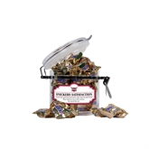 Snickers Satisfaction Small Round Canister-Troy Trojans Shield