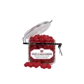 Sweet & Sour Cherry Surprise Small Round Canister-Troy Trojans Shield