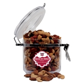 Deluxe Nut Medley Round Canister-Troy Trojans Shield