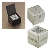 Icon Inspiration Cube-Troy Trojans Shield Engraved