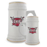 Full Color Decorative Ceramic Mug 22oz-Troy Trojans Shield