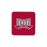 Hardboard Coaster w/Cork Backing 4/set-Troy Trojans Wide Shield