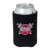 Neoprene Black Can Holder-Troy Trojans Shield