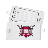 Luggage Tag-Troy Trojans Shield