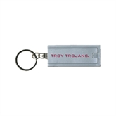 Turbo Silver Flashlight Key Holder-Troy Trojans
