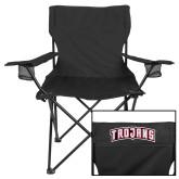 Deluxe Black Captains Chair-Arched Trojans