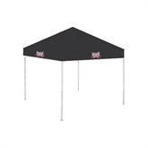9 ft x 9 ft Black Tent-Troy Trojans Wide Shield
