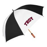 62 Inch Black/White Umbrella-Arched Troy