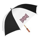 62 Inch Black/White Umbrella-Trojans Shield