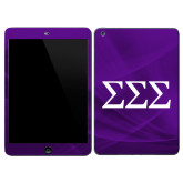 iPad Mini 3 Skin-Greek Letters - One Color