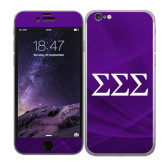 iPhone 6 Skin-Greek Letters - One Color