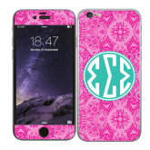 iPhone 6 Skin-Pink India Pattern