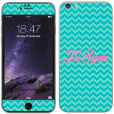 iPhone 6 Plus Skin-Seaglass Chevron Pattern