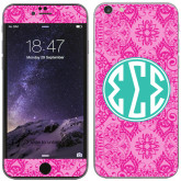 iPhone 6 Plus Skin-Pink India Pattern