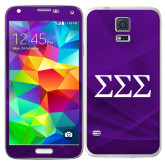 Galaxy S5 Skin-Greek Letters - One Color