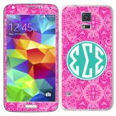 Galaxy S5 Skin-Pink India Pattern