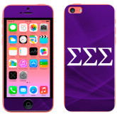 iPhone 5c Skin-Greek Letters - One Color