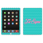 iPad Air 2 Skin-Seaglass Chevron Pattern