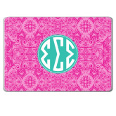 MacBook Pro 15 Inch Skin-Pink India Pattern