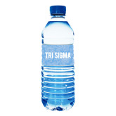 Water Bottle Labels 10/pkg-Blue Lace Pattern