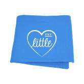 Light Blue Sweatshirt Blanket-Little in Heart