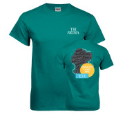 Teal T Shirt-Tri Sigma Stacked - Official