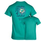 Teal T Shirt-120 Years of Sisterhood