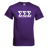 Purple T Shirt-Service Day