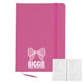 5x7 Fuchsia Hard Cover Journal-Biggie Bow