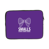 13 inch Neoprene Laptop Sleeve-Smalls Bow