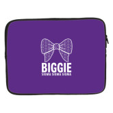 15 inch Neoprene Laptop Sleeve-Biggie Bow