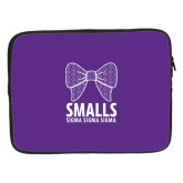15 inch Neoprene Laptop Sleeve-Smalls Bow