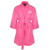 Hot Pink Waffle Kimono Robe-Little in Heart